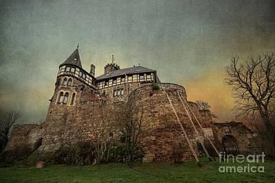 Mixed Media - Berlepsch Castle by Eva Lechner
