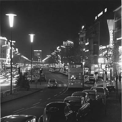Photograph - Berlin At Night by Waterman
