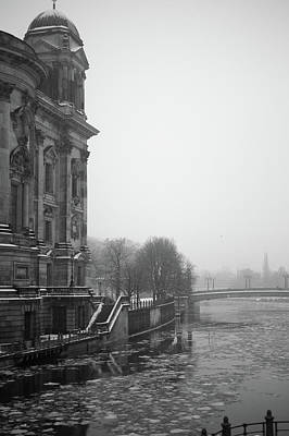 Photograph - Berlin Cathedral In Cold Winter by Dominik Eckelt