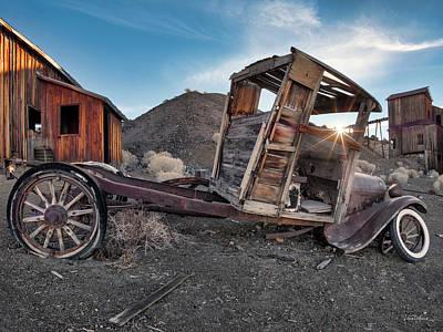 Photograph - Berlin Nevada by Leland D Howard
