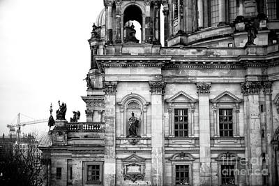 Photograph - Berliner Dom Details by John Rizzuto