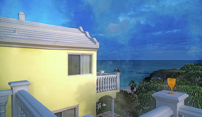 Caribbean House Wall Art - Photograph - Bermuda High by Betsy Knapp