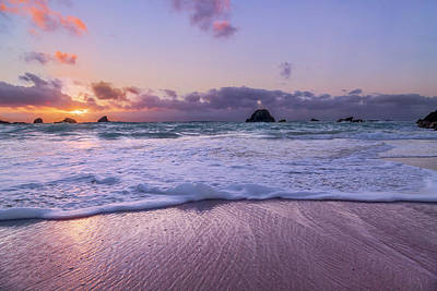 Royalty-Free and Rights-Managed Images - Bermuda Sunrise Welcome to Heaven Crossbay Beach by Betsy Knapp