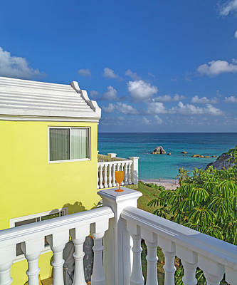 Royalty-Free and Rights-Managed Images - Bermuda Time to Escape by Betsy Knapp