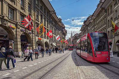 Photograph - Bern Cityscape by Liran Eisenberg