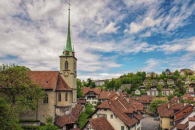 Photograph - Bern Rooftops by Liran Eisenberg