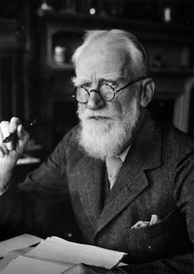Bernard Shaw Art Print by Hulton Archive
