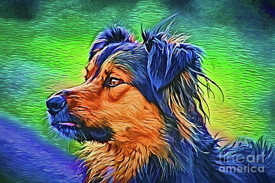 Painting - Best Friend A18-82 by Ray Shrewsberry