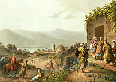 Photograph - Bethany And Dead Sea 1803 by Munir Alawi