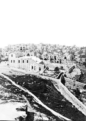 Photograph - Bethlehem 1875 by Munir Alawi