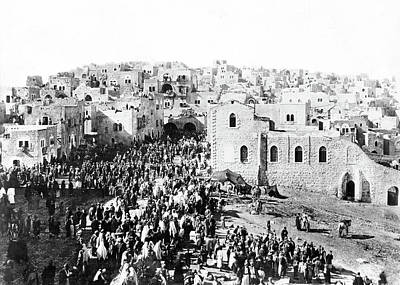Photograph - Bethlehem 1889 by Munir Alawi