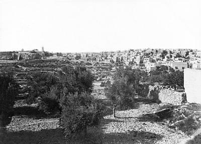 Photograph - Bethlehem 1895 To 1915 by Munir Alawi