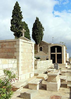 Photograph - Bethlehem Cemetery by Munir Alawi
