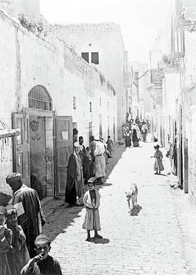 Photograph - Bethlehem From 1880 To 1900 by Munir Alawi