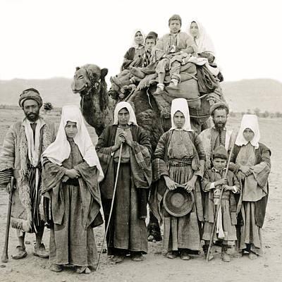 Photograph - Bethlehem Natives In 1919 by Munir Alawi