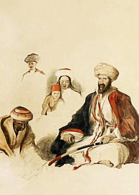 Photograph - Bethlehem Natives by Munir Alawi