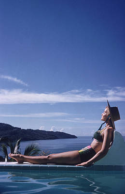 Photograph - Between Sea And Sky by Slim Aarons