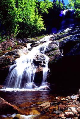 Photograph -  Beulach Ban Falls  by Thomas R Fletcher