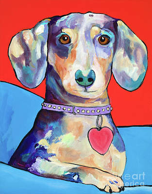 Painting - Beverly by Pat Saunders-White