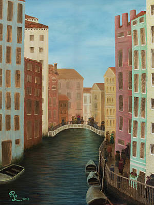 Painting - Beyond The Grand Canal by Renee Logan