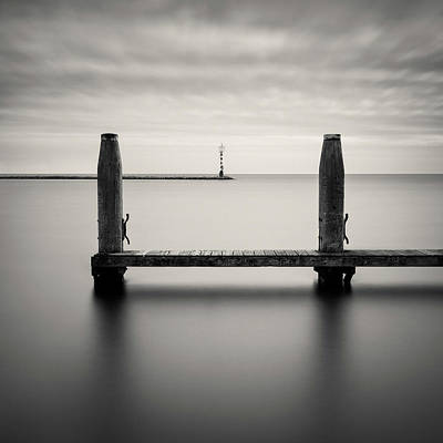 Photograph - Beyond The Jetty by Dave Bowman