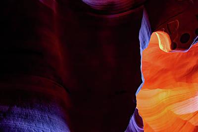 Photograph - Beyond The Wall - Antelope Canyon Arizona by Gregory Ballos