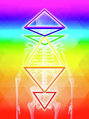 Digital Art - BGI by Barry Costa