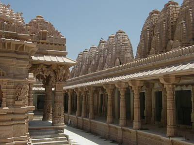 Jainism Wall Art - Photograph - Bhadreshawar Jain Temple, Kutch, Gujarat by © Jayesh Bheda