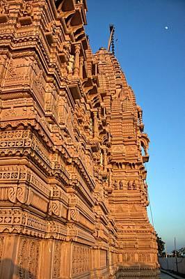 Jainism Wall Art - Photograph - Bhadreshwar Jain Temple During Sunset by © Jayesh Bheda