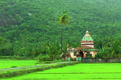 Karnataka Photograph - Bhoomi Devi Temple- Chendia-karnataka by Rbb
