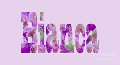 Digital Art - Bianca 2 by Corinne Carroll