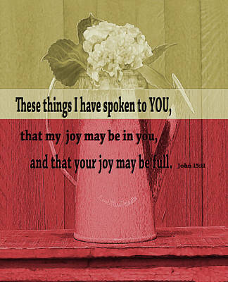 Digital Art - Bible Verses  Art 123.  by Miss Pet Sitter