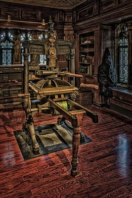 Photograph - Bibliographical Press by Susan Candelario