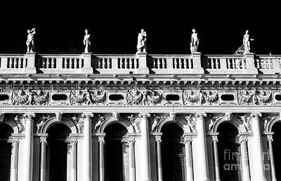 Photograph - Biblioteca Nazionale Marciana Venice by John Rizzuto