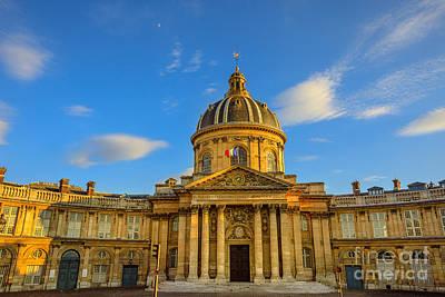 Photograph - Bibliotheque Nazarine Paris by Benny Marty