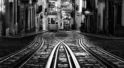 Photograph - Bica Street by Jorge Maia