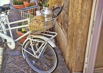 Photograph - Bicycle by JAMART Photography