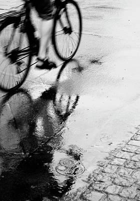 Photograph - Bicycle On Street by Katja Kircher