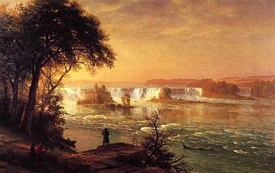 Western Art - Bierstadt_Albert_The_Falls_of_St._Anthony by Bierstadt Albert