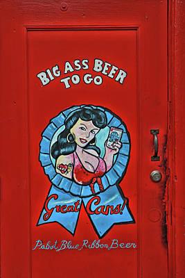 Photograph - Big Ass Beer - Memphis by Allen Beatty