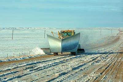Photograph - Big Ass Snow Plow by Todd Klassy