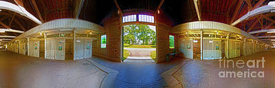 Photograph - Big Barn Kentucky Horse Park 360 by Tom Jelen