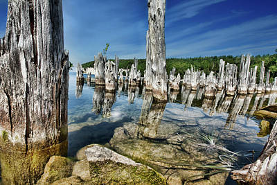 Photograph - Big Bay De Noc, Michigan by Evie Carrier
