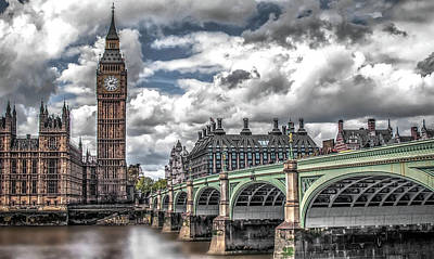 Photograph - Big Ben On The River Thames  by Doc Braham
