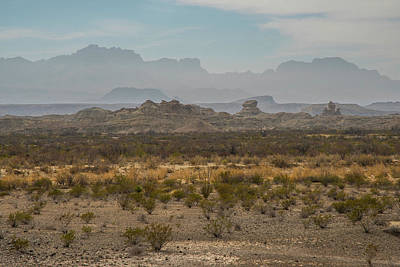 Photograph - Big Bend Layers by Matthew Irvin