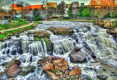 Photograph - Big Brother Reedy River Falls Park Greenville South Carolina Art by Reid Callaway