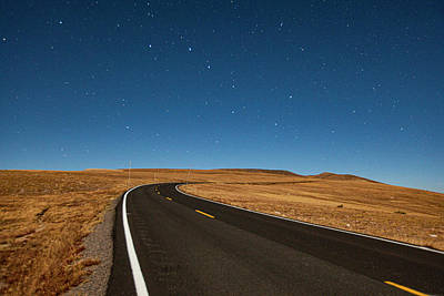 Photograph - Big Dipper Over Trail Ridge Road by Al Hann