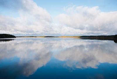 Photograph - Big Lake, Big Sky by Carl Young