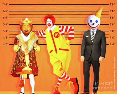 Photograph - Big Mac Attack Round Up All The Usual Suspects 20180919 by Wingsdomain Art and Photography