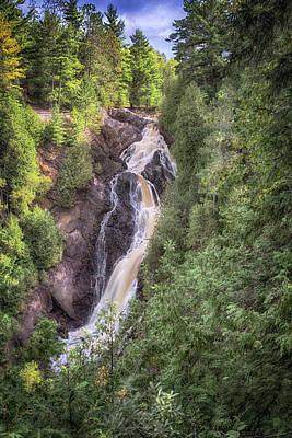 Photograph - Big Manitou Falls 1 by Susan Rissi Tregoning